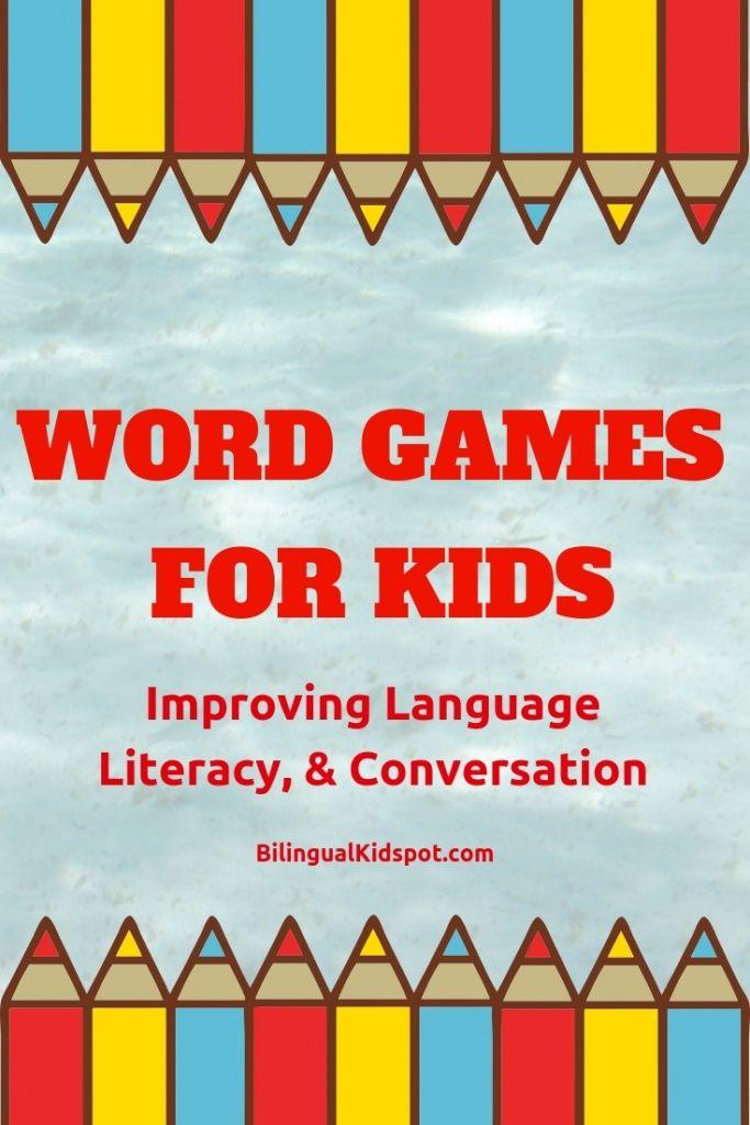 10 English Word Games For Kids Improving Language Literacy