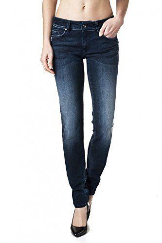Salsa – Pantalons Wonder Push avec taille moyenne – Femme: Les Push-Up de Salsa sont le numéro un du push-up jeans sur le marché avec…