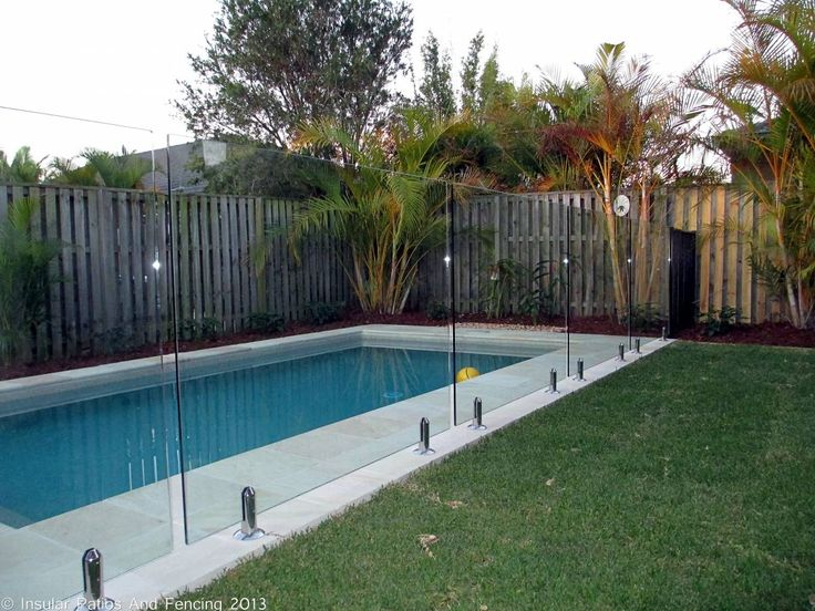 Frameless Glass Pool Fencing - Oxenford - Gold Coast - Insular Patios & Fencing
