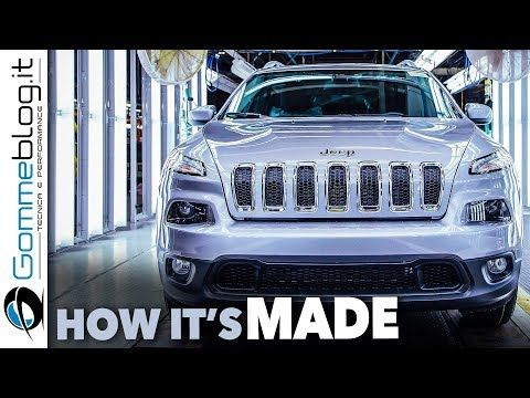 Jeep Cherokee Car Factory Production How It S Made Youtube
