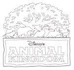 Magic Kingdom Disneyland & Walt Disney World Resort Printable Coloring Pages