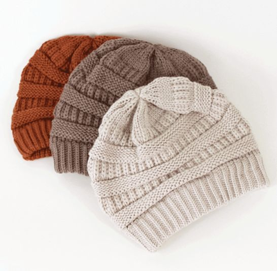 The crowd favorite Willow Beanies <3 These beanies are even softer in person than they look!