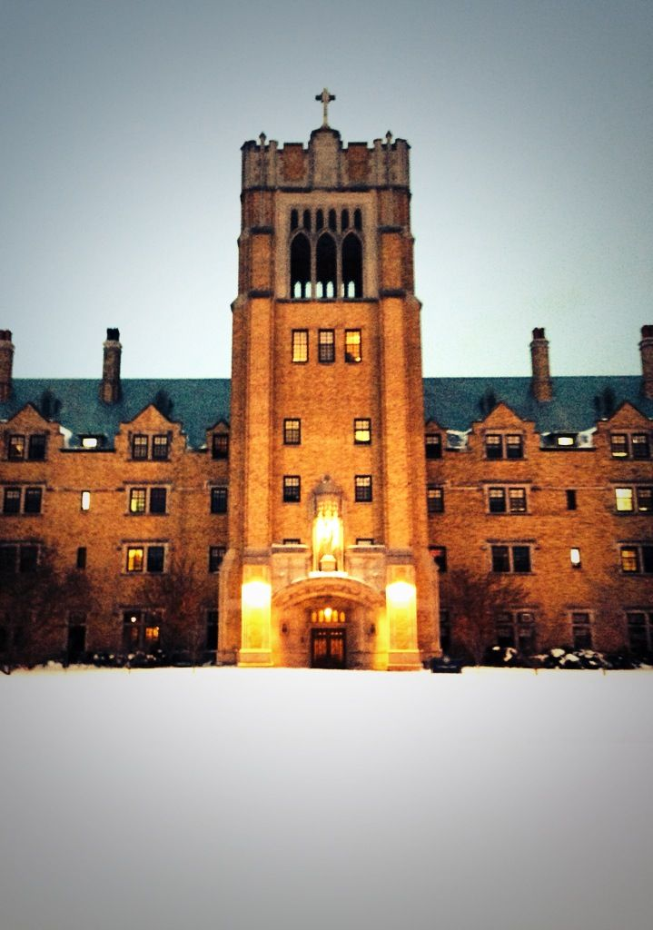 LeMans Hall. Saint Mary's College, Notre Dame, IN