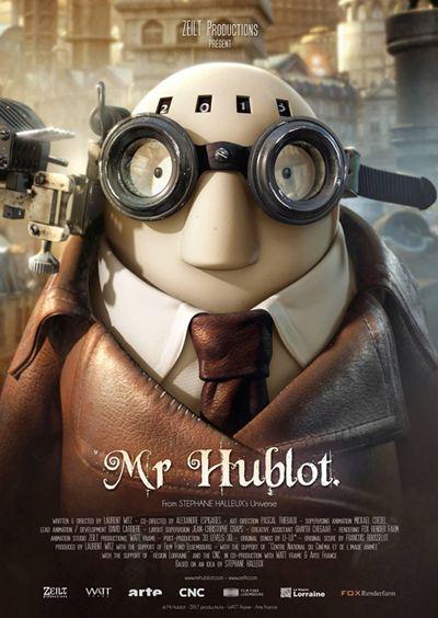 Découvrez Mr Hublot, Oscar du meilleur film d'animation 2014 - Momes.net