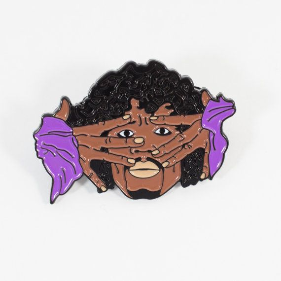 Dave Chappelle Prince Pin. Hat pin Hatpins by TaylorandSonGifts