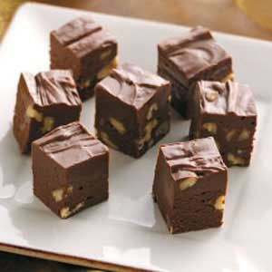 Mamie Eisenhower's Fudge Recipe from Taste of Home -- shared by Linda First of Hinsdale, Illinois
