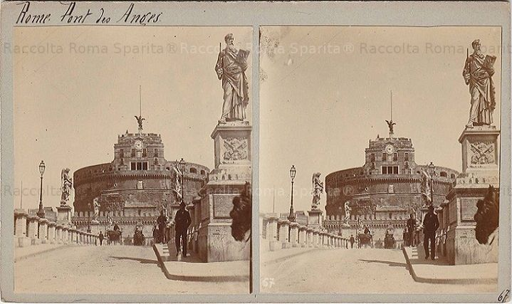 Ponte Sant'Angelo  Anno: 1909