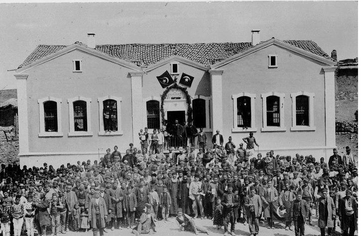 Yozgat 1912 Bertevian okulu açılış töreni