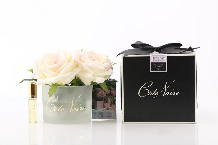 #Blush Real-Touch #Roses in Perfume Scented Gel with Rose Spray - not available online - #cotenoire