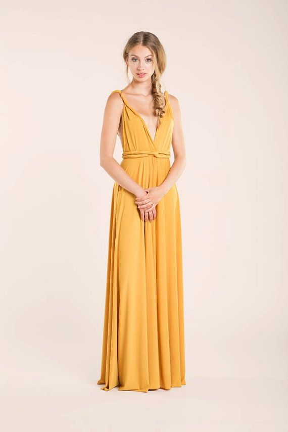 25 best ideas about mustard bridesmaid dresses on
