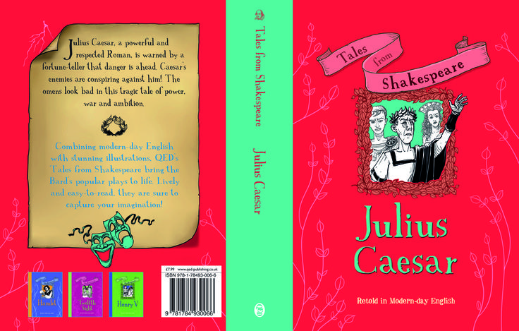A little preview of one of our newest Tales from Shakespeare series' title, Julius Caesar, coming up April 15th! #shakespeare#newsQED