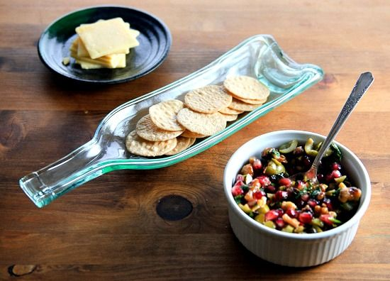 Healthy Green Kitchen Pomegranate, Green Olive and Cilantro Relish ...