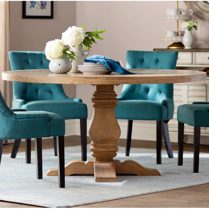 Magaw Solid Wood Dining Table Unique Dining Tables Dining Room