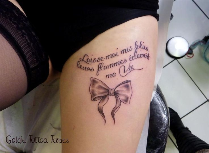goldie tattoo tarbes ecriture cuisse noeud girly fev 2013 large