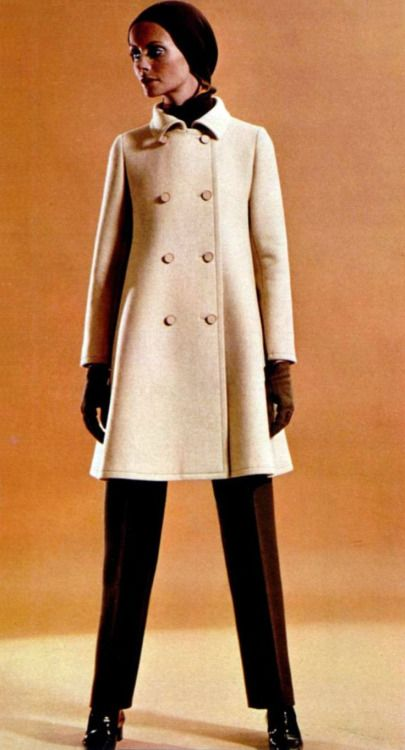 Fsahion by Philippe Venet, 1969.