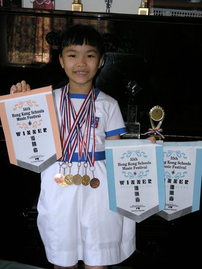 Top Awards & Gold Medals for Piano and Gymnastic Competition