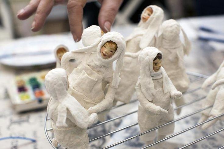 Фоторепортаж с мастер-класса по ватной елочной игрушке от 500 эскимо! - Ярмарка Мастеров - ручная работа, handmade