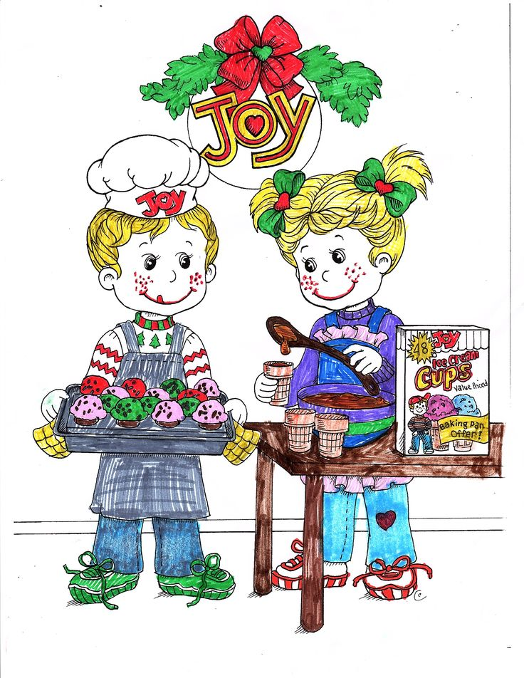 Joy Coloring Sweepstakes entry from Josie age 12 from MI! #bringJOYhome #coloring #icecreamcones #holidays