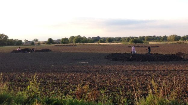 Archaeology students from the University of Sheffield dug nine trenches to unearth the Anglo-Saxon artefacts