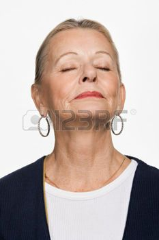 femmes matures: Portrait de femme adulte mature