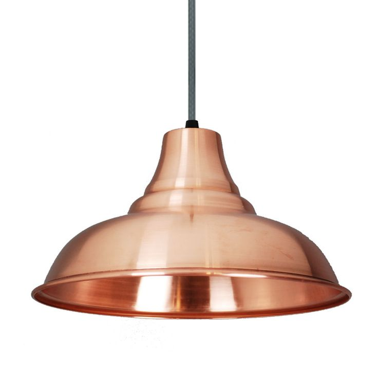 Large Copper Vintage Style Pendant lamp Shade