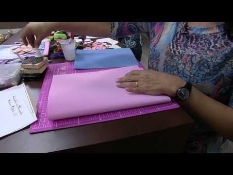 TUTORIAL DE COMO FAZER UMA CAPA P/ CADERNETA DE VACINA - YouTube