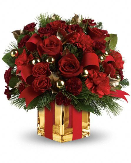 All #Wrapped Up #Bouquet by Teleflora #Flowers #presents #gifts