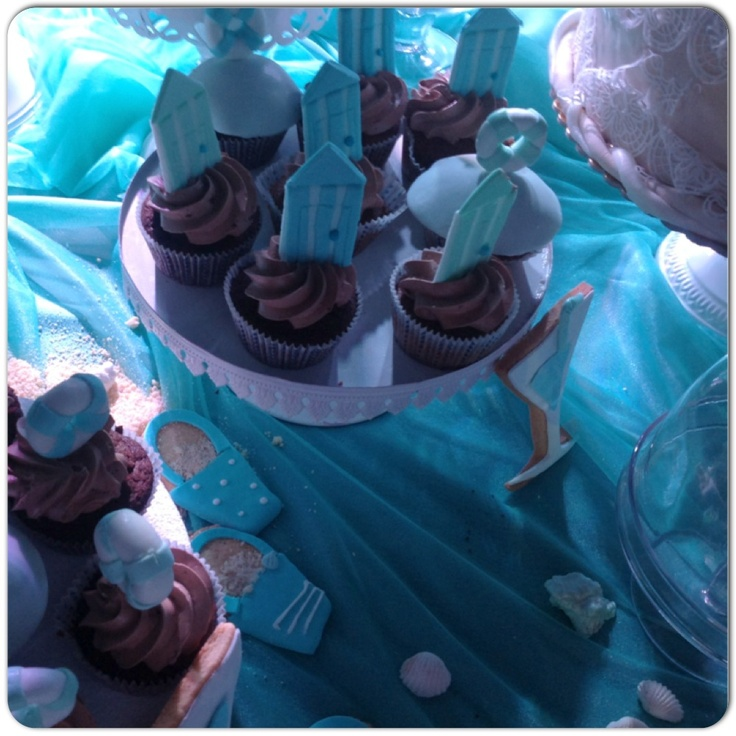 #chocolate #beachCabin #Cupcakes...ready to dive?#sessapasticceria #sessaspecialeventandcakes #SessaArtigianiDelGusto