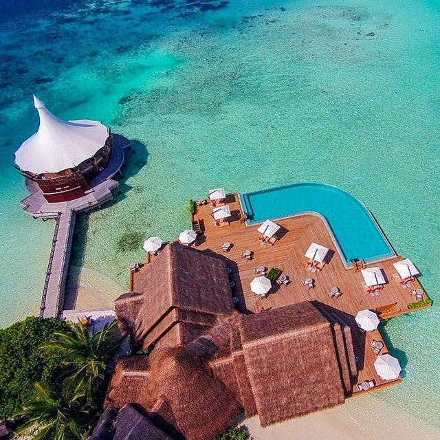 #ShareIG #Maldives anyone? Via @hotelsandresorts. #BTBhoneymoonmonth #honeymoon #holiday