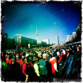 Halbmarathon Berlin 2012