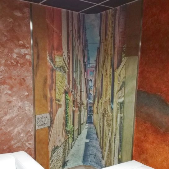 #fresky #tapeta #tapetydoexterieru #fresco #interiordesign #architecture #wallpaper #interiors #wallart #walldecor #mural #affreschi #decoration #art #madeinitaly #brno #czechrepublic #barvysanmarco www.barvy-sanmarco.cz