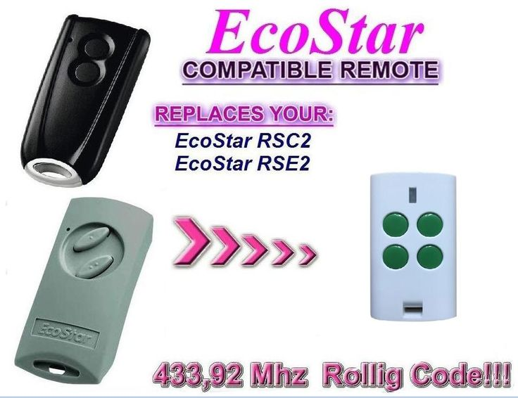 Hormann ecostar rse2 rsc2 compatible garage door Remote control free shipping #Affiliate