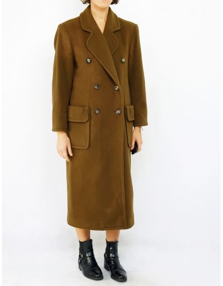 Rare Yves Saint Laurent wool military coat!