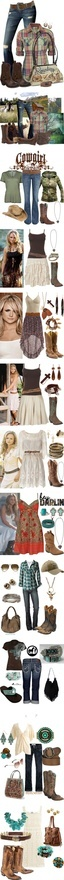 Country Chic by kimscrip on Polyvore  Wish I could wear and afford almost all of this...very cool!