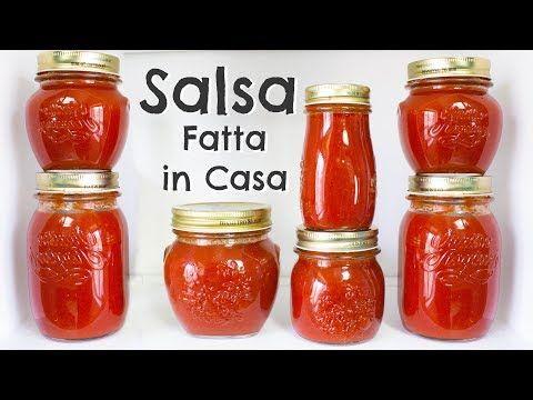 Conserva di Salsa di Pomodoro Fresco Fatta in Casa | Ricetta Completa | 55Winston55 - YouTube