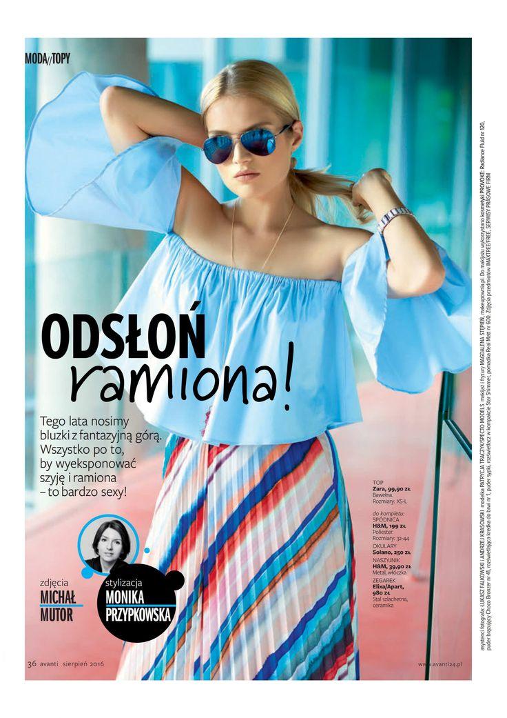 Avanti Magazine #magazine #sunglasses #model #press #fashion #shopping
