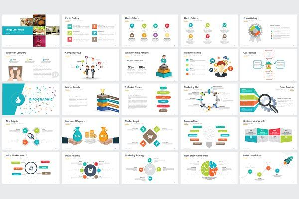 Rational Powerpoint Template by DesignCorner on @creativemarket