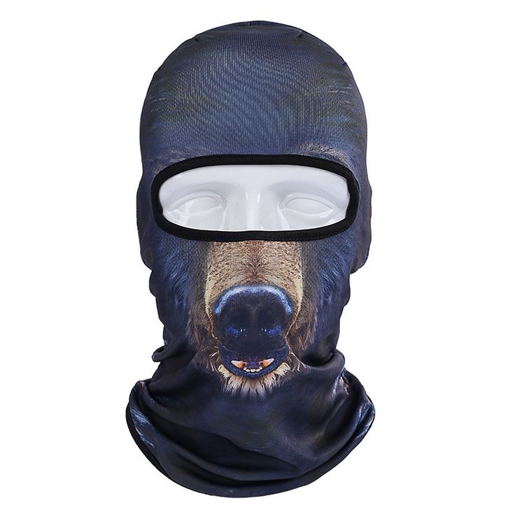 3D Animal Face Mask Outdoor Sports Cap Bicycle Cycling Fishing Motorcycle Masks Ski Balaclava Full Face Mask