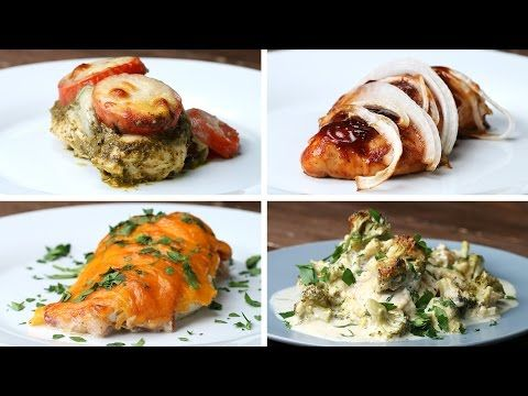 Here's Four Exciting Ways To Make Baked Chicken