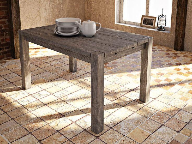Rustykalny stół drewniany Country
