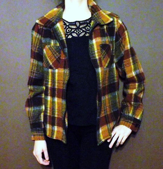 70's Wool Jacket by MaryLuVintage on Etsy, $32.00