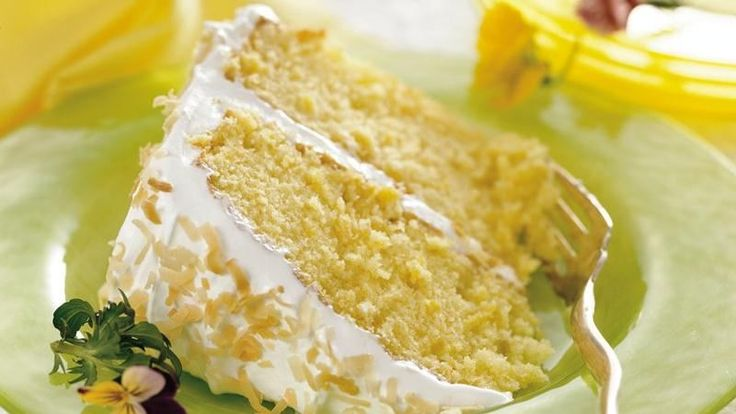 All the flavors in the popular tropical drink come together in a dreamy frosted cake.