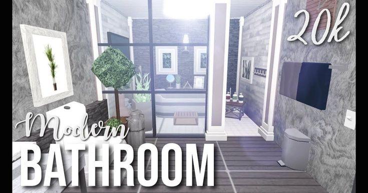 Modern Bathroom Bloxburg | 1000 in 2020 | Simple bathroom ... on Small:e_D8Ihxdoce= Bathroom Ideas  id=16157