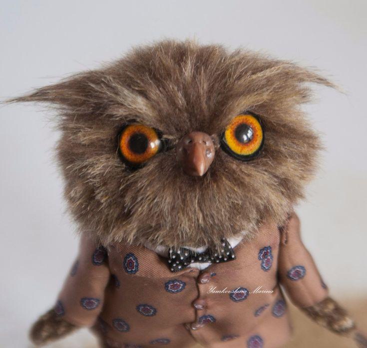 фото невыспавшейся совы швейную