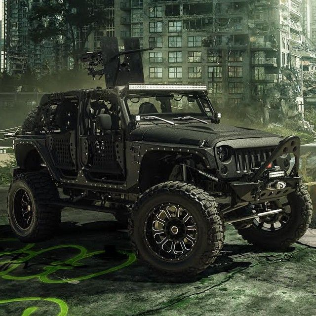 Kevlar Edition Jeep | Follow: @StarwoodMotors | For More Amazing Builds! Also, Check Out Their Showroom | www.StarwoodMotors.com | (Photo: @pepperyandell) #Padgram
