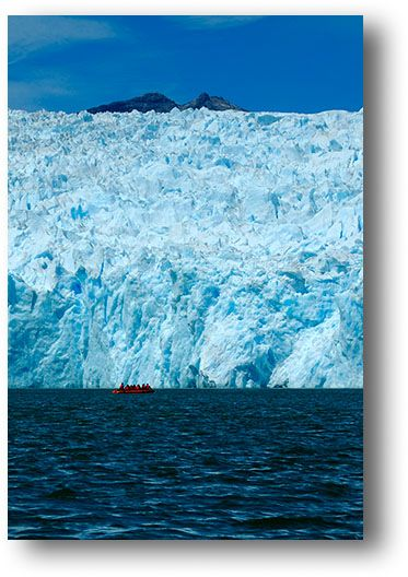 Glacier Laguna San Rafael, Chile