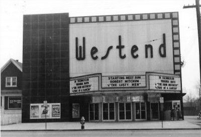 Westend theater, 3312 W Broadway. Opened 1952, renamed Cinema West in 1972, later razed around 1975.