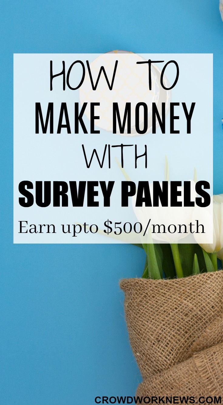 Surveys are a great way to earn an extra income. If you use some tips and strategies they can be worth your time. Click through to find out how you can make around $500 per month with survey panels.