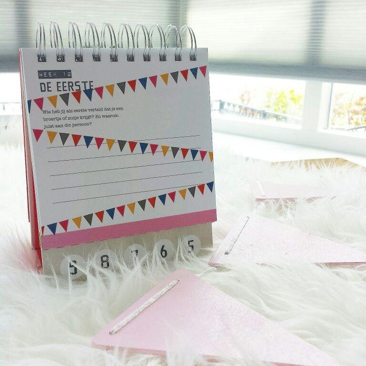 Zwangerschapsaftelkalender!  Grappige opdrachtjes en samen aftellen tot de baby komt!  www.liefderijklievedingen.nl