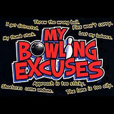 Funny Bowling T-Shirt My Bowling Excuses Shirt Tee Hoodie Long Sleeve